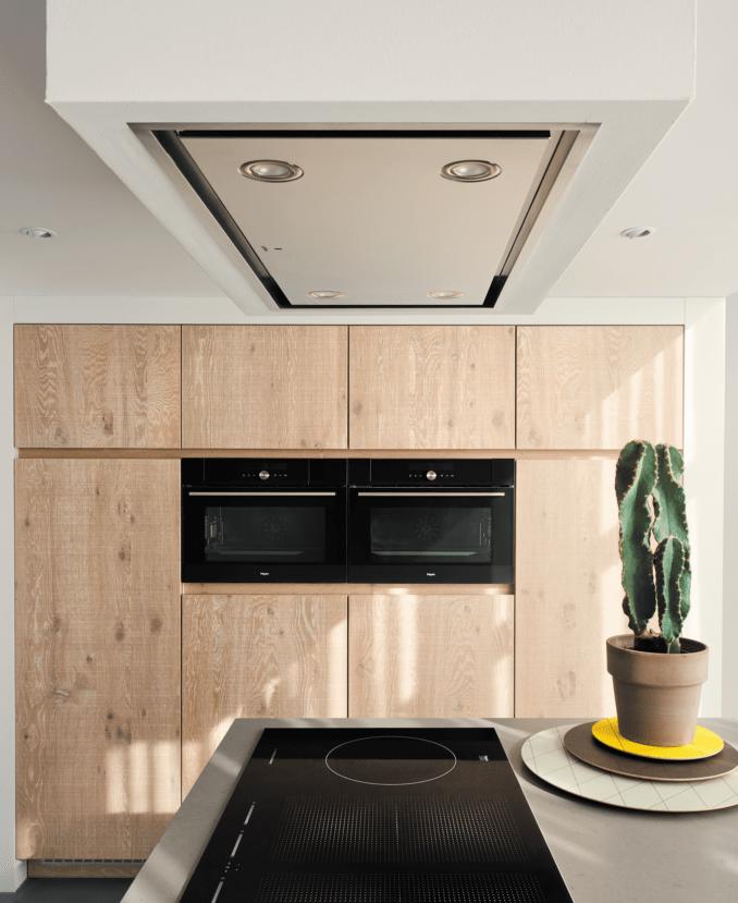 Afzuiging keuken - plafond afzuigkap: Pelgrim plafondunit ISW1000RVS