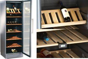 Wijnkoelkast en wijnklimaatkast keuze: Vrijstaande wijnklimaatkast – Bosch KSW38940 met twee temperatuurzones, energielabel B