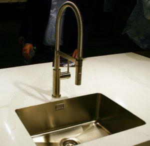Opbergruimte in de keuken tips: randloze TopZero spoelbak – Dekker Zevenhuizen Beurs Imm