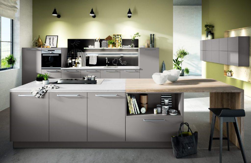 Ergonomische keuken – ergonomie in de Häcker kookeiland keuken AV 2035