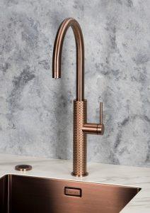Keukentrend 2019: Selsiuz Designed by Gessi bruisend en kokend-water-kraan
