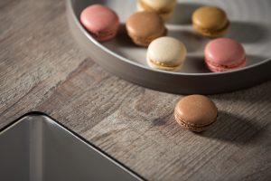 TopCore keukenblad met houtdecor in de nieuwe keuken