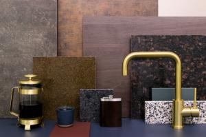 Keukentrend 2019 Raw Rituals keukenblad materialen en keukenkraan van Dekker Zevenhuizen