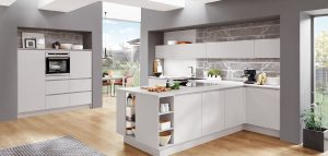 Keuken vorm: T-keuken – Nobilia moderne keuken Fashion 171