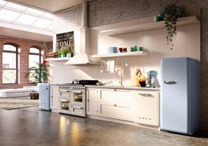 Keukenapparatuur keuze: Smeg retro koelkast