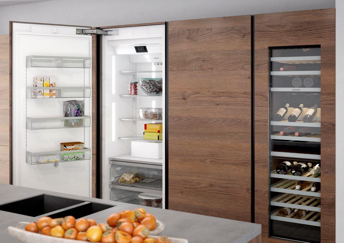 Keuken schoonmaken tips: koelkast schoonmaken - Siemens inbouw koelkast & wijnklimaatkast
