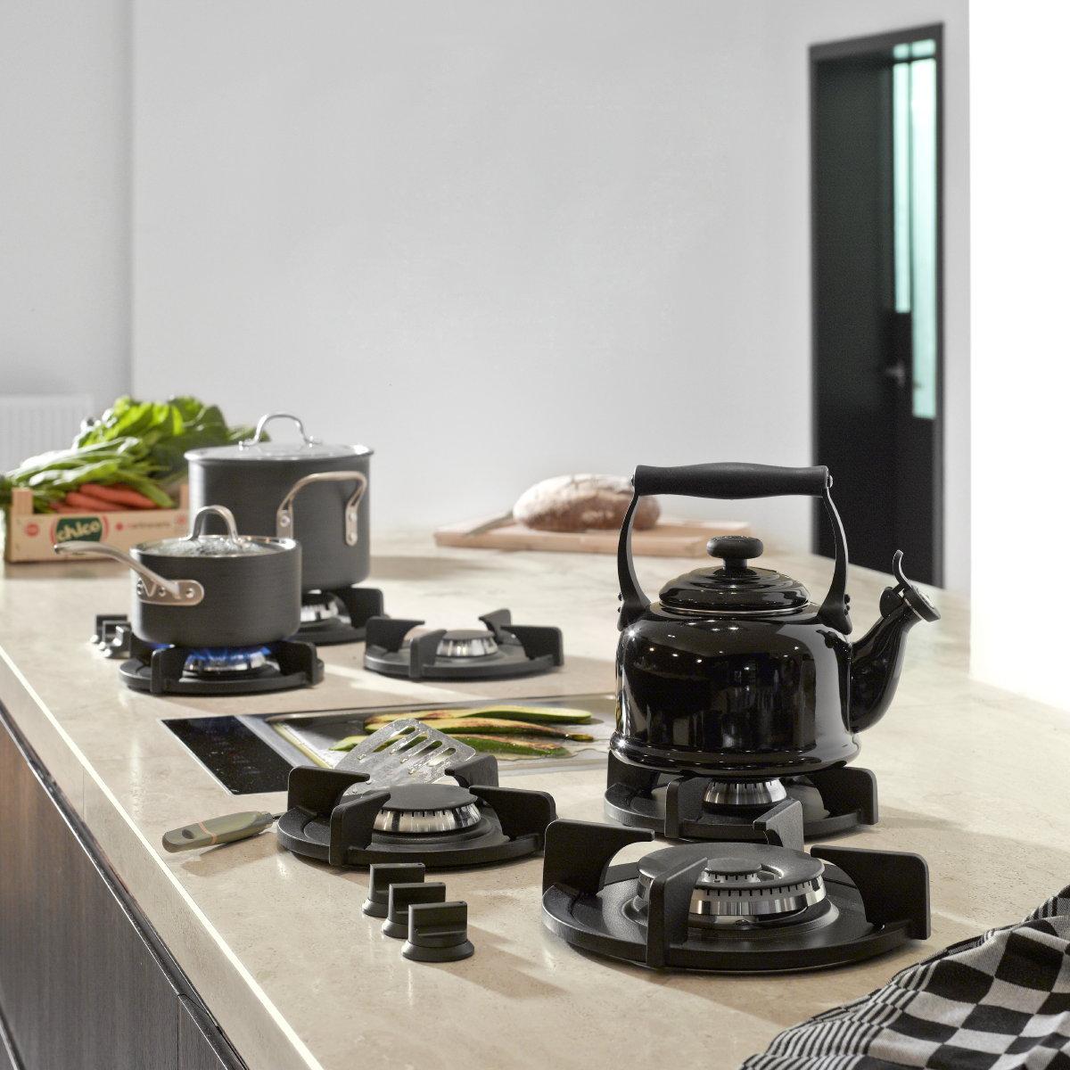 PITT cooking Cima & Capital model gaspitten met teppanyaki plaat in het midden