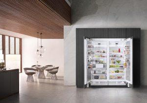 Side by side koelkast inbouw, Miele koelkast inbouw K 2801 Vi Mastercool