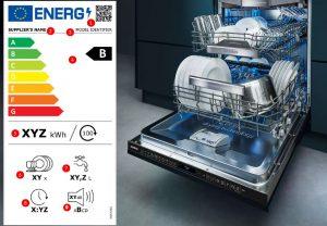 Nieuw energielabel vaatwasser, nieuw energielabel afwasmachine, Siemens