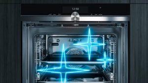 Oven schoonmaken met zelfreinigend systeem, Siemens oven met purolyse, activeClean