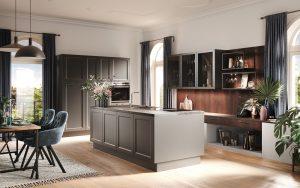 Landelijke keuken met design en industriële elementen, Häcker keuken AV 6055